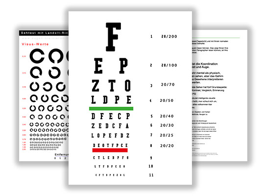 Sehtafeln-Augentraining